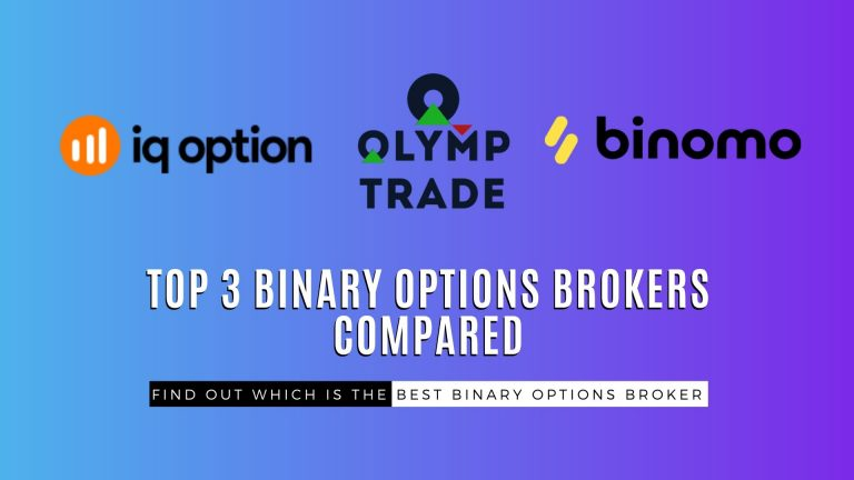 Top 3 Binary Options Brokers Compared
